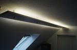 indirekte Beleuchtung mittels Leuststoffröhren Bad